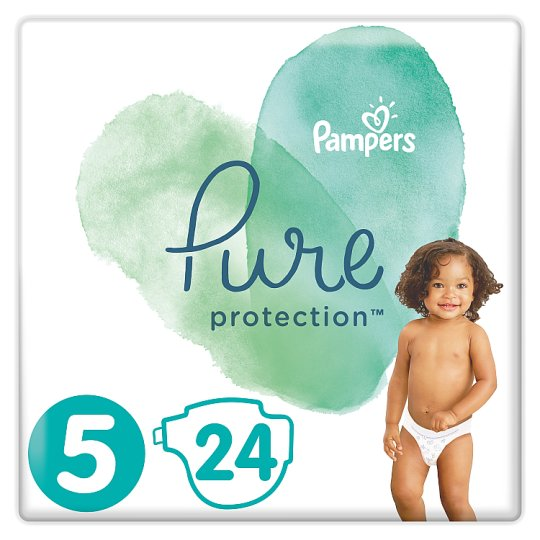 image 1 of Pampers Pure Protection Size5 24 Nappies