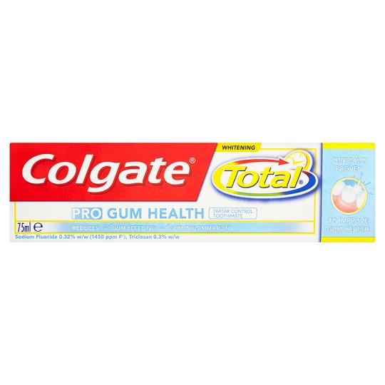 image 1 of Colgate Total Pro Gum Whitening Toothpaste 75Ml