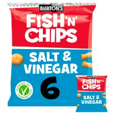 image 1 of Burtons Fish And Chips 6X25g