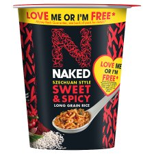 Naked Rice Szechuan Sweet And Spicy Pot 78G