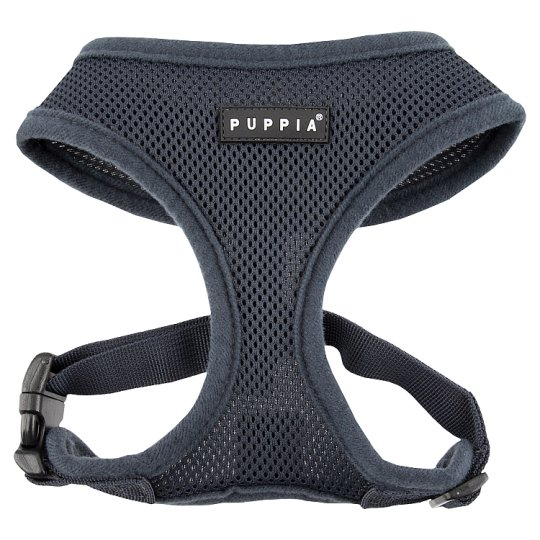 image 1 of Puppia Mesh Dog Harness Grey Medium