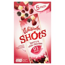 Whitworths Shots Berry& White Chocolate 5X25g