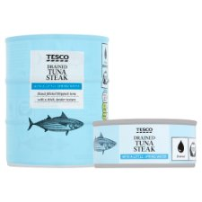 image 2 of Tesco Drained Tuna In Spring Water 3 X 110G