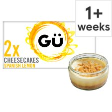 Gu Lemon Cheesecake 2 X90g