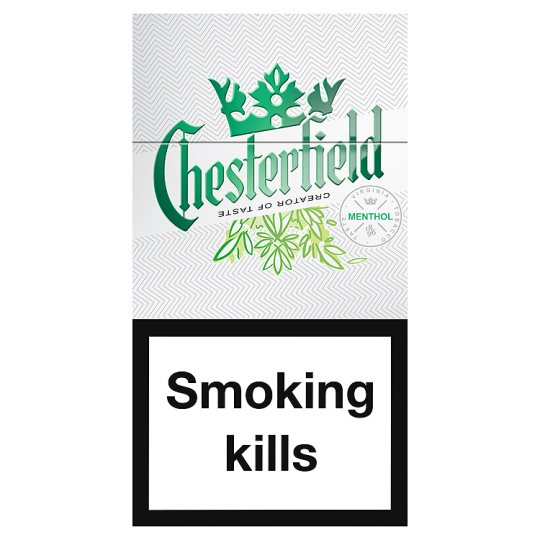 Chesterfield Menthol Superkings 19 Pack