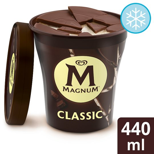 Magnum Classic Ice Cream Tub 440Ml