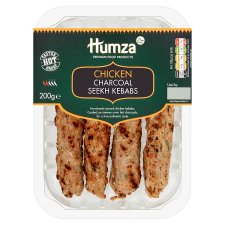Humza Chicken Charcoal Kebabs 200G