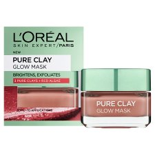 image 2 of L'oreal Pure Clay Glow Mask Red 50Ml