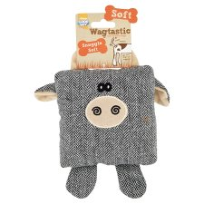 Wagtastic Snuggle Soft Dog Toy