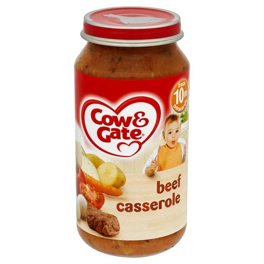 Cow And Gate Beef Casserole Jar 250G 10 Mth+