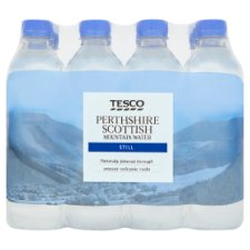Tesco Perthshire Still Water 12X500ml