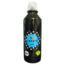Tesco Go Create Ready Mixed Paint 300Ml - Black