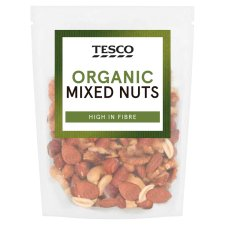 image 1 of Tesco Organic Mixed Nuts 200G