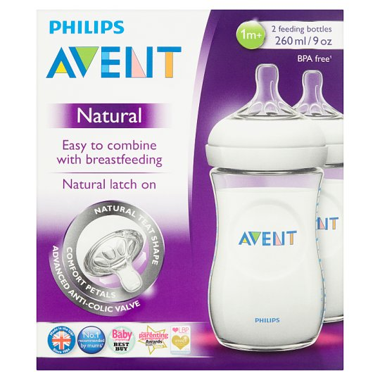 image 1 of Avent Natural Bottle 260Ml 2S