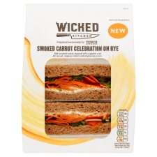 Wicked Kitchen Smoked Carrot Sandwich