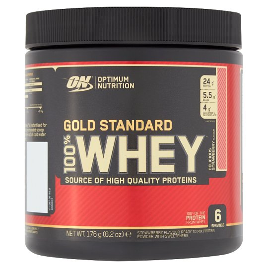 Optimum Gold Standard Strawberry Whey 176G