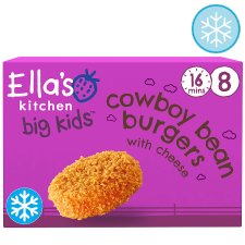 Ella's Kitchen Bean Burgers 8Pk 200G