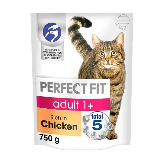 image 1 of Perfect Fit Cat Complete Adult 1+ Chicken 750G
