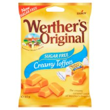Werthers Sugar Free Toffee 80G