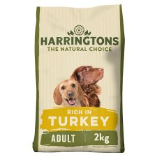 Harringtons Turkey And Vegetable Dry Dog Food 2Kg