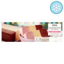 Tesco Neapolitan Ice Cream Block 1 Litre