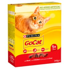 Go Cat Chicken Beef And Liver 340G