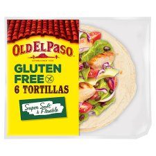 Old El Paso 6 Regular Gluten Free Tortilla 216G