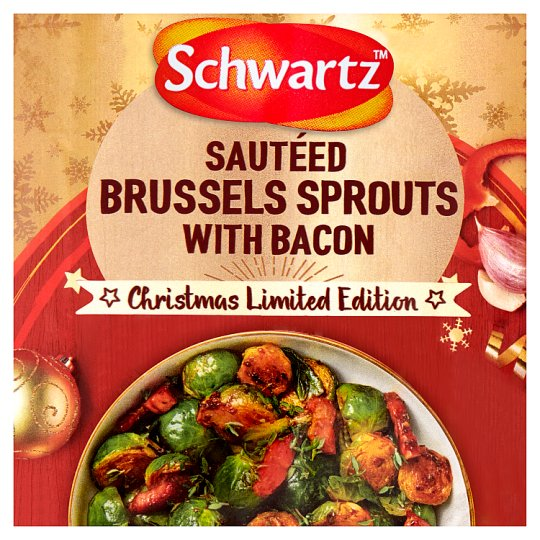 Schwartz Sauteed Brussels Sprouts With Bacon Limited Edition