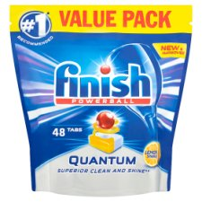 Finish Quantum Max Lemon 48 Dishwasher Tablets