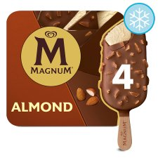 Magnum Almond Ice Cream 4 X100ml