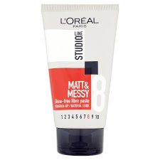 L'Oreal Studio Line Matte & Messy Paste 150Ml