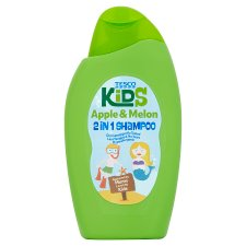 Tesco Kids Apple And Melon 2 In 1 Shampoo 250Ml