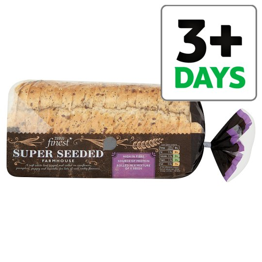 Tesco Finest Super Seeded Bread 800G