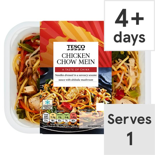 Tesco Chicken Chow Mein 400G