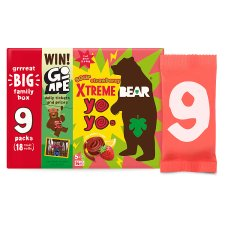 Bear Yoyo Sours Strawberry And Apple 180G