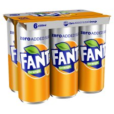 Fanta Orange Z 6 X 330 Ml Pack