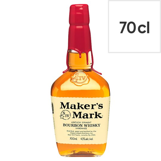 image 1 of Makers Mark Bourbon 70Cl