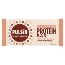 Pulsin Peanut And Chocolate Protein Booster 50G