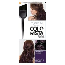 L'Oreal Colorista Paint Midnight Purple Permanent Hair Dye