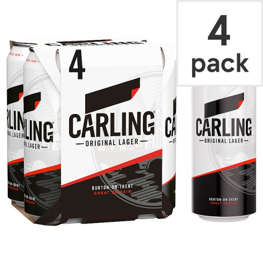image 1 of Carling Lager 4X440ml