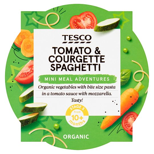Tesco Tomato And Courgette Spaghetti Baby Food 190G