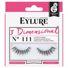 Eylure False Lashes 3Dimensional 111