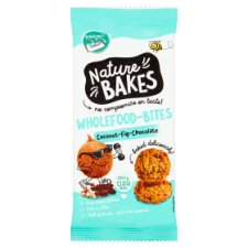 Nature Bakes Wholefood Bites Coconut Chocolate 150G