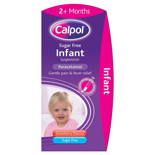 Calpol Infant Sugar Free 100Ml