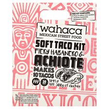 Wahaca Firy/Hab And Achoite Soft Taco Kit 470G