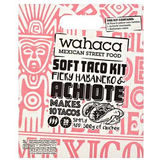 image 1 of Wahaca Firy/Hab And Achoite Soft Taco Kit 470G