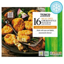 Tesco Meat Free Chicken Style Nuggets 16 Pack 320G