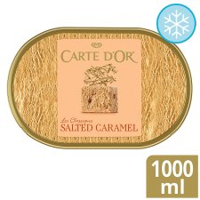 Carte D'or Salted Caramel Ice Cream Dessert 1000Ml