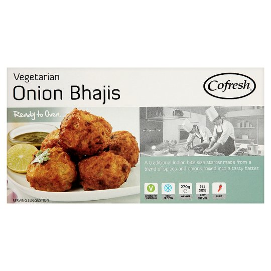 Cofresh Vegetarian Onion Bhajis 270G