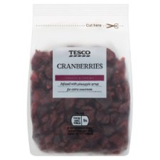 Tesco Cranberries 200G